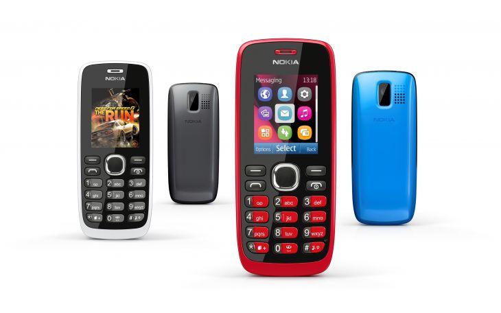 Nokia 112 group shot
