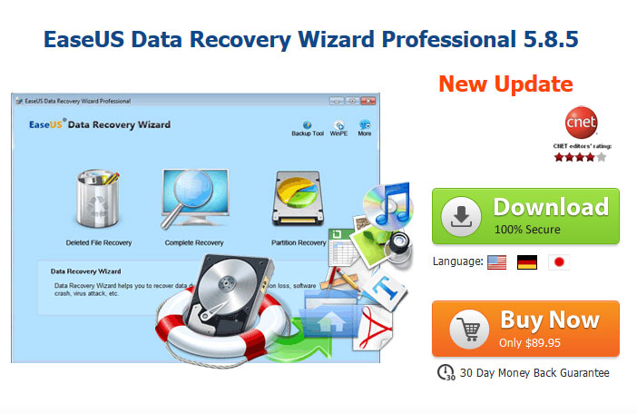 "EaseUS Data Recovery Wizard Professional key ""bản quyền"""