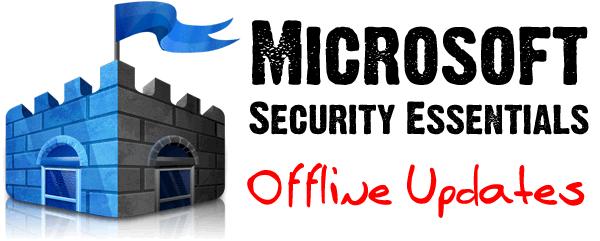 Microsoft Security Essentials Offline Definition Updates