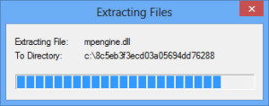 MSE update Offline extracting file
