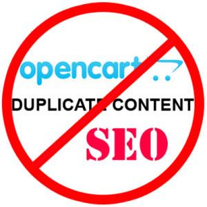 Remove duplicate URL Opencart