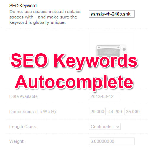 Seo keyword autocomplete