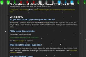 Snowstom Demo