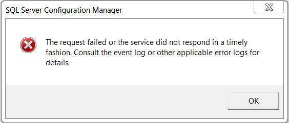 SQL Server Agent Start Error