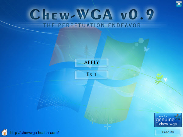 "Chew-WGA v0.9 ""liều thuốc"" tốt nhất cho Windows 7"