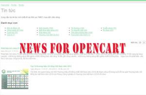 News 4 Opencart