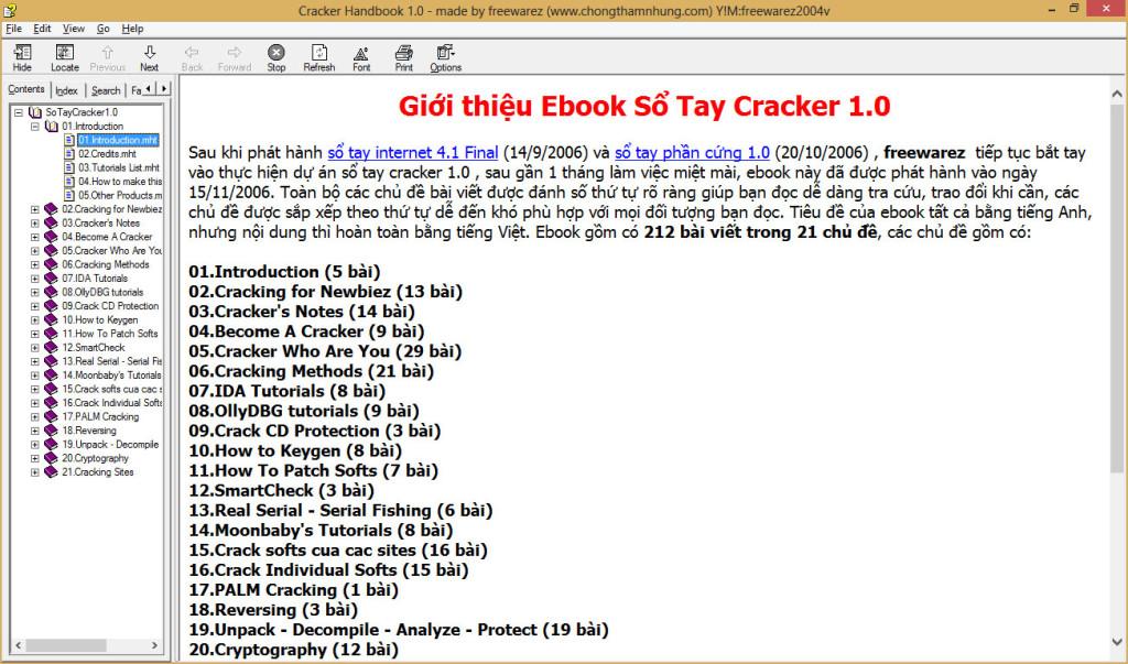Sổ tay Cracker 1.0
