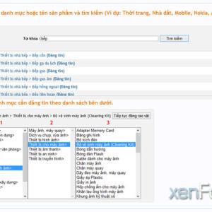 Add-ons đăng tin nhanh xenforo