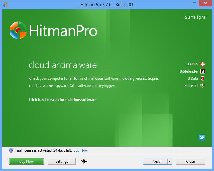 HitmanPro Home