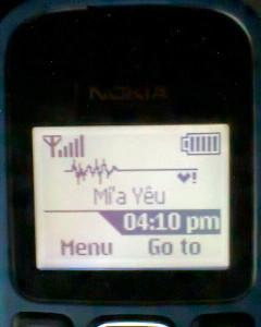 Thay đổi logo mạng cho Nokia 1280